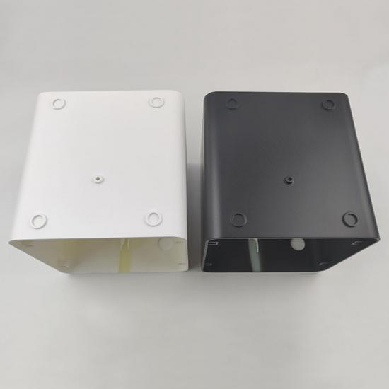 Plastic injection molding housing